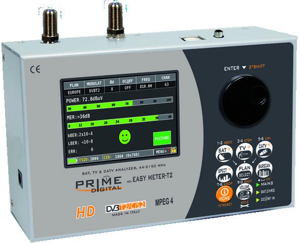 Test instrument til antenneanlæg